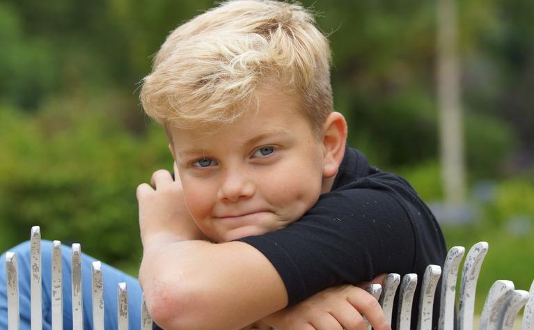 Children with Crohn's disease