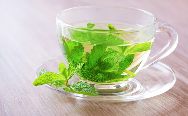 Peppermint tea is used by some people to relieve trapped wind