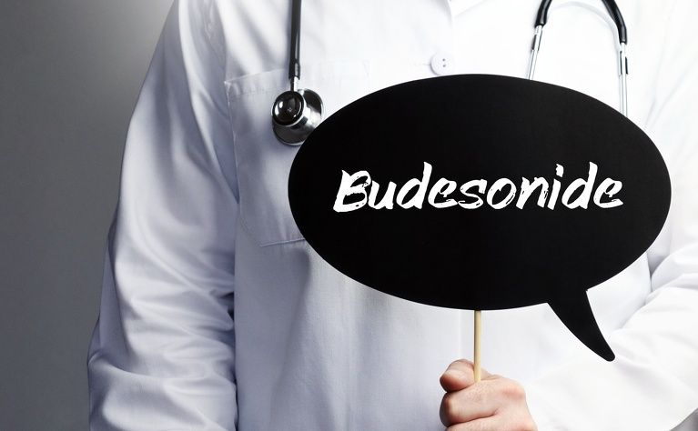 Budesonide is a steroid used in the treatment of Crohn's disease and ulcerative colitis