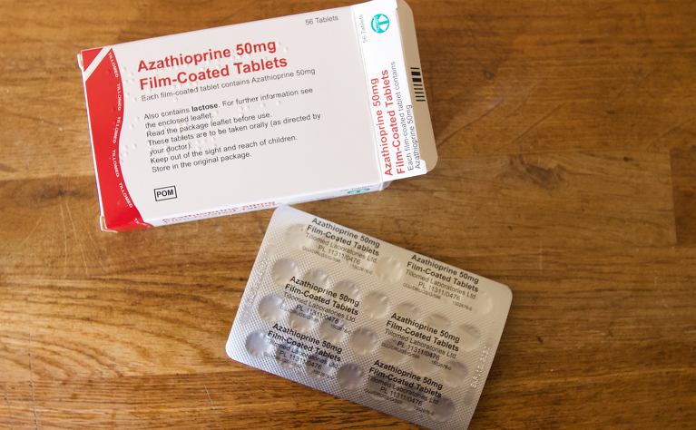 Azathioprine tablets for Crohn's disease and ulcerative colitis