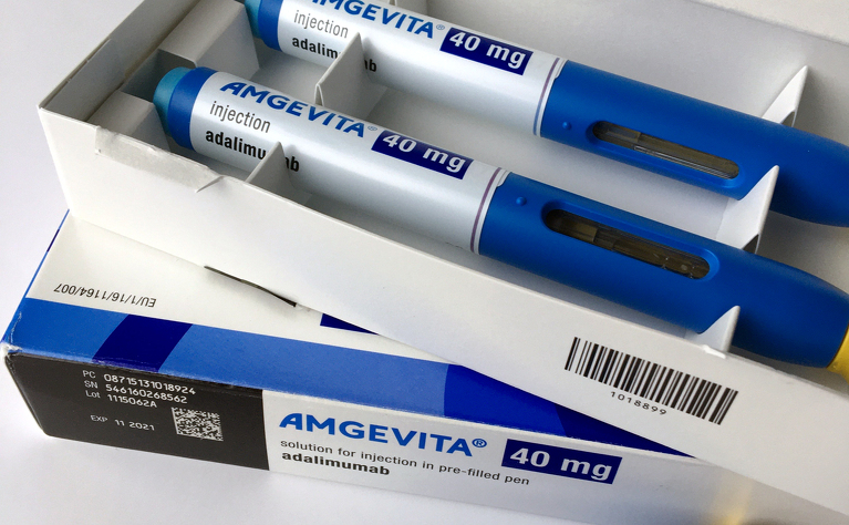 Some medicine, such as adalimumab biosimilar Amgevita, are delivered by a home delivery company.