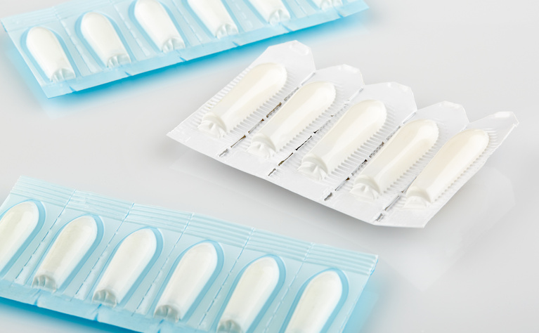 Sulfasalazine suppositories to treat ulcerative colitis